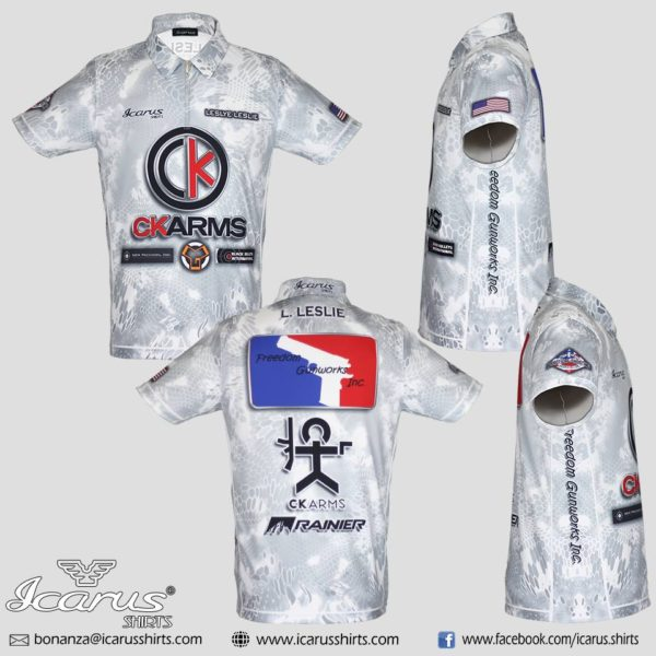 CK Arms – White Dry Fit (1)
