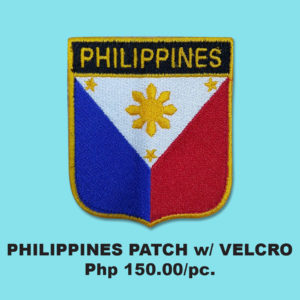 PHIL PATCH with VELCRO