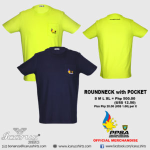 PPSA ROUNDNECK with POCKET 1