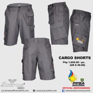 PPSA SHORT GREY 1