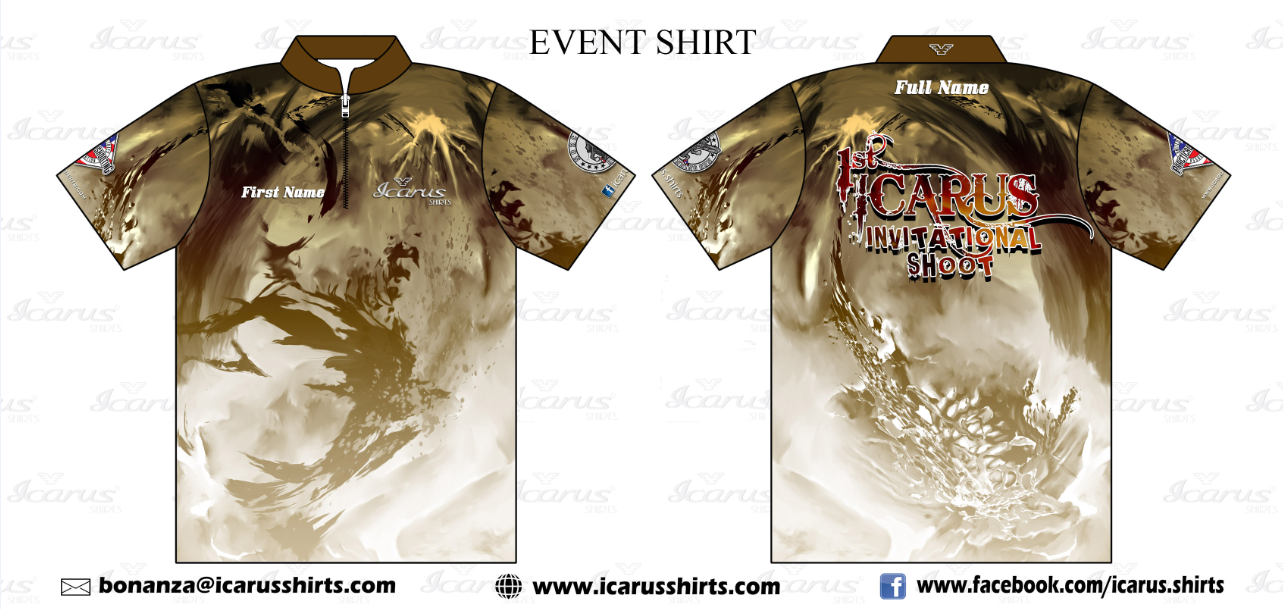 ICARUS Cup Event Shirt – ORDER NOW until October 21, 2015
