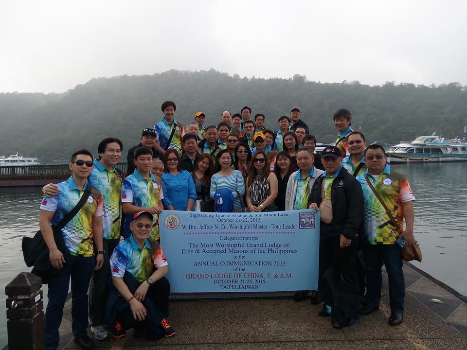 GLP delegates visit Grand Lodge of China ANCOM 2015
