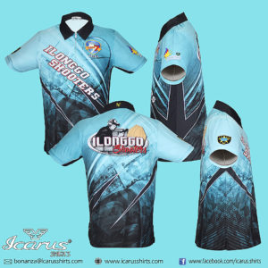 Ilonggo Shooters Dry Fit shirt for Shooting