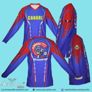 Cotobato Canari Motorcycle Club Dry Fit Shirts
