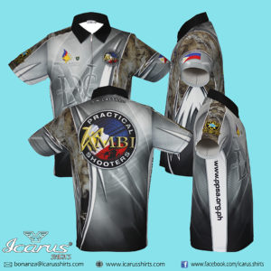 KMBI Gray Dry Fit Shooting Shirt