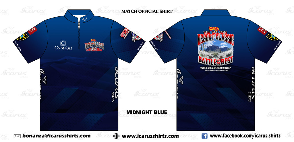 Rio Salado Desert Classic Area 2 - Match Official Shirt