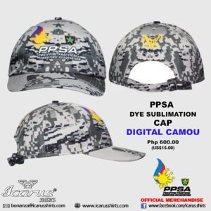 PPSA CAP - Digital Camou