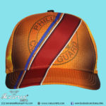 Dye Sublimation Cap - 5 panel (hard front)