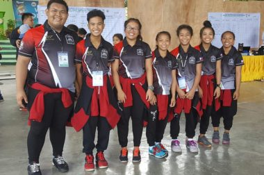 Angono Weightlifting Team #roadtobatangpinoyfinals2016