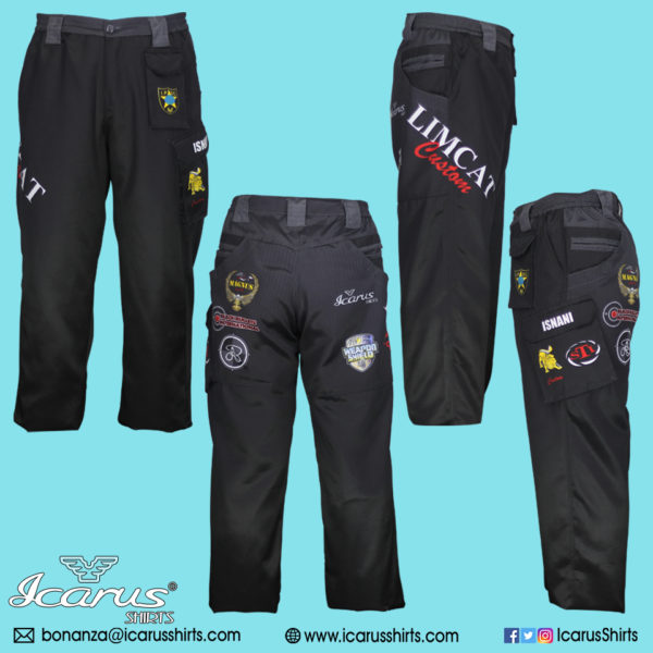 LIMCAT Black Subli Pants – 0