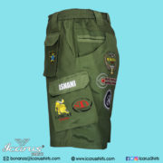 LIMCAT Green Subli Shorts - 2