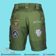 LIMCAT Green Subli Shorts - 3