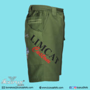 LIMCAT Green Subli Shorts - 4