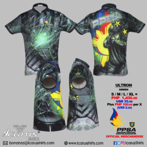 y 0123 - PPSA Ultron Green---5