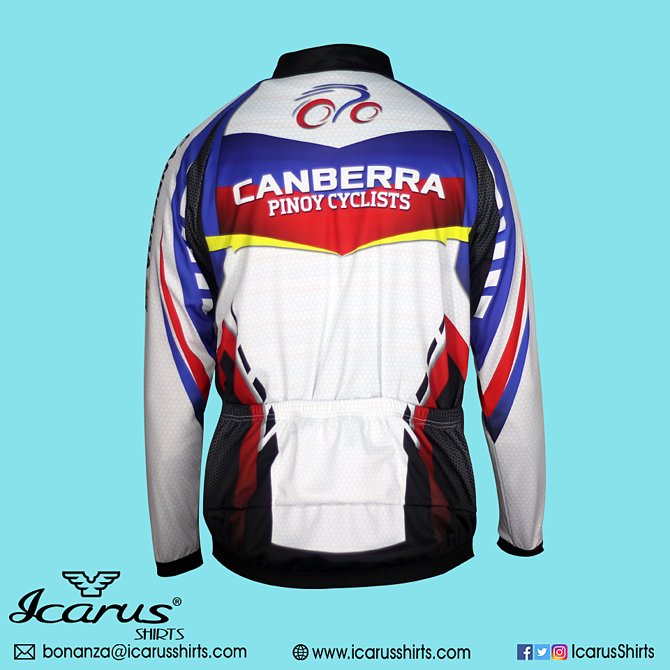 Canberra pinoy cyclists icarus shirts