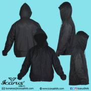 1201 - Water Repellant with Fleece Lining -- 1