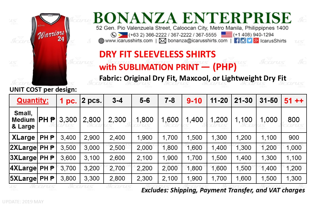 Sleeveless Dry Fit - PHP