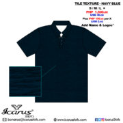 Tile Texture - Navy Blue - 1