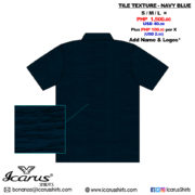 Tile Texture - Navy Blue - 2