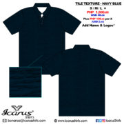 Tile Texture - Navy Blue - 3