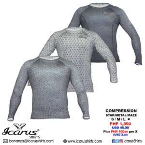 0719 - Compression Shirts -- MULTICOLOR