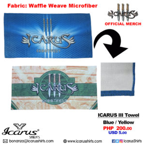 4in1 - Icarus III towel 1