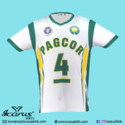 PAGCOR SPORT SHIRT GREEN---1