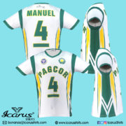 PAGCOR SPORTS SHIRT GREEN---5