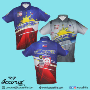 Team Philippines World Shoot Rifle - multicolor