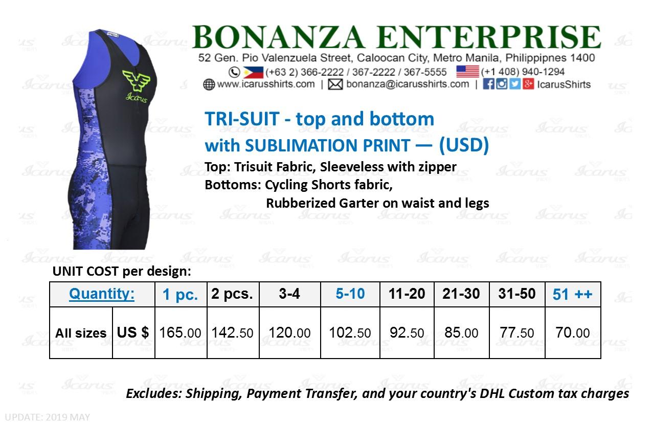 Trisuit (Triathlon) - Icarus Shirts